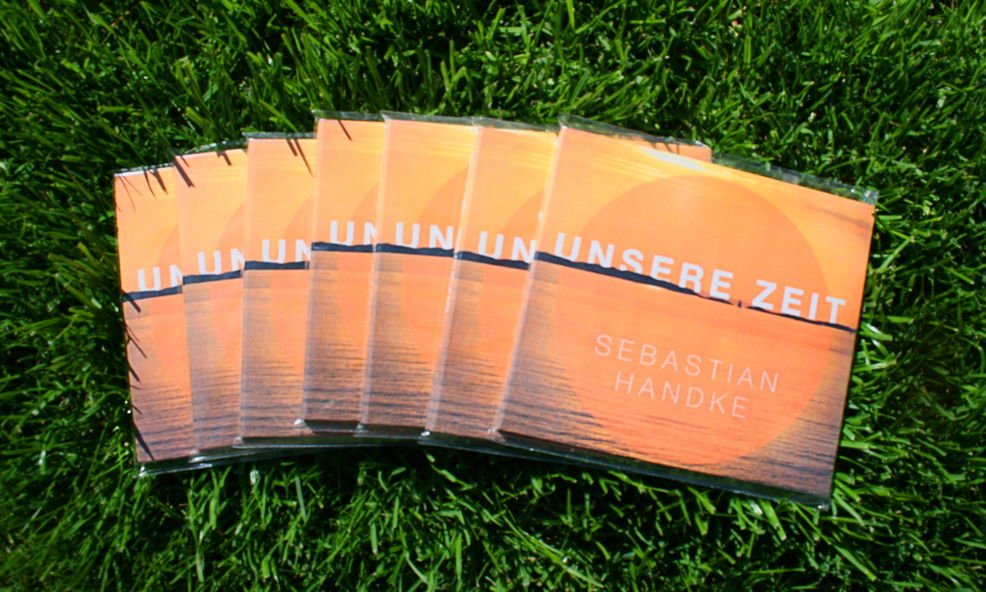 Unsere Zeit EP CD im Gras