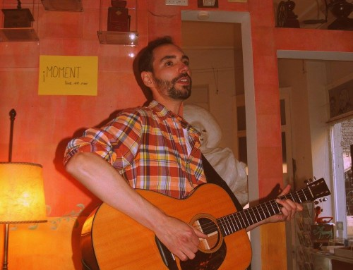 15th June '!Moment' at Kunstcafé Galeano